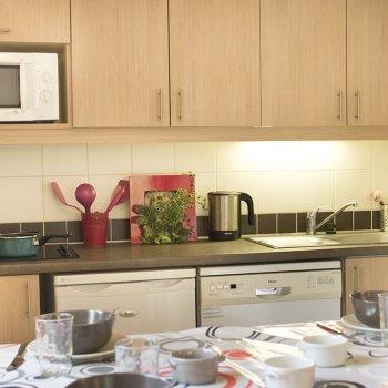 Cuisine appartement 2 pièces Les Orres