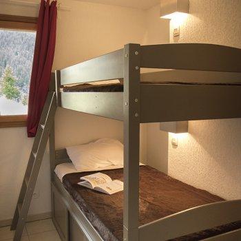 Chambre appartement 2 pièces Les Orres
