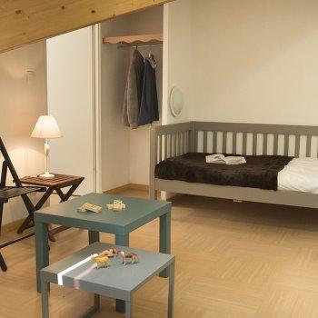 Salon appartement 2 pièces Les Orres
