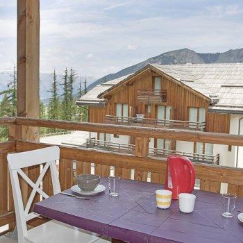 Balcon appartement 3 pièces Les Orres