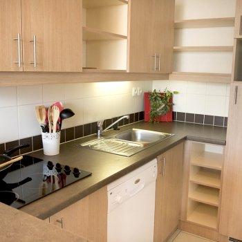 Cuisine appartement 3 pièces Les Orres