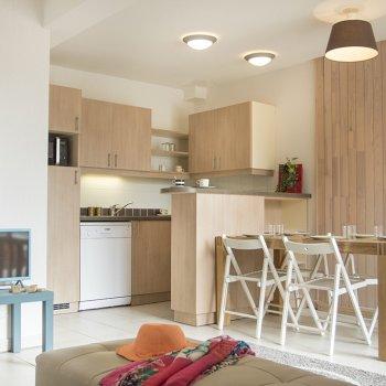 Pièce à vivre appartement 3 pièces Les Orres