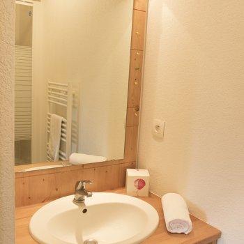 Salle de bain appartement 3 pièces Les Orres