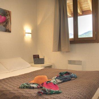 Chambre appartement 4 pièces Les Orres
