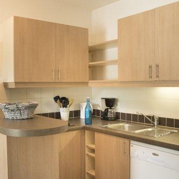Cuisine appartement 4 pièces Les Orres