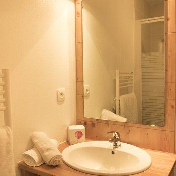 Salle d'eau appartement 4 pièces Les Orres